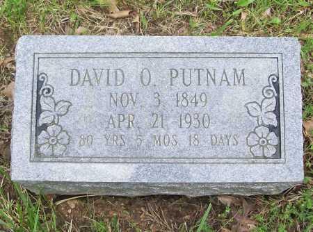PUTNAM, DAVID O. - Benton County, Arkansas | DAVID O. PUTNAM - Arkansas Gravestone Photos