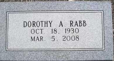 KNAPIK RABB, DOROTHY ALICE - Benton County, Arkansas | DOROTHY ALICE KNAPIK RABB - Arkansas Gravestone Photos