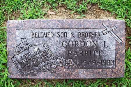 RABBITT, GORDON L. - Benton County, Arkansas | GORDON L. RABBITT - Arkansas Gravestone Photos