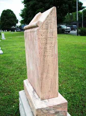 RACKERBY, J. H. - Benton County, Arkansas | J. H. RACKERBY - Arkansas Gravestone Photos