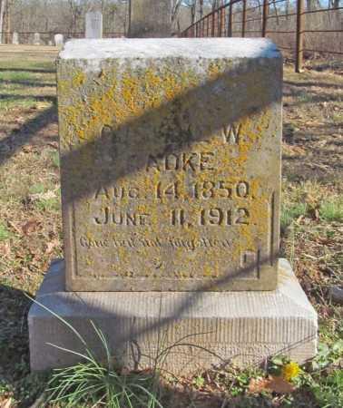 RADKE, GUSTAV W. - Benton County, Arkansas   GUSTAV W. RADKE - Arkansas Gravestone Photos
