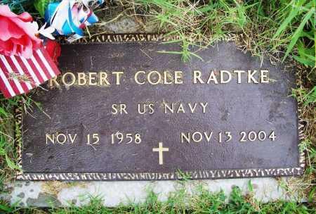 RADTKE (VETERAN), ROBERT COLE - Benton County, Arkansas | ROBERT COLE RADTKE (VETERAN) - Arkansas Gravestone Photos