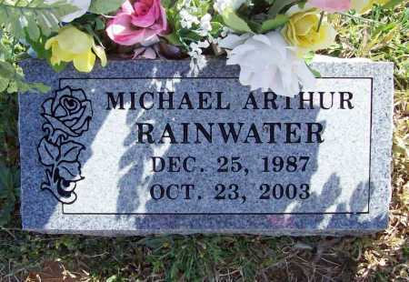 RAINWATER, MICHAEL ARTHUR - Benton County, Arkansas | MICHAEL ARTHUR RAINWATER - Arkansas Gravestone Photos