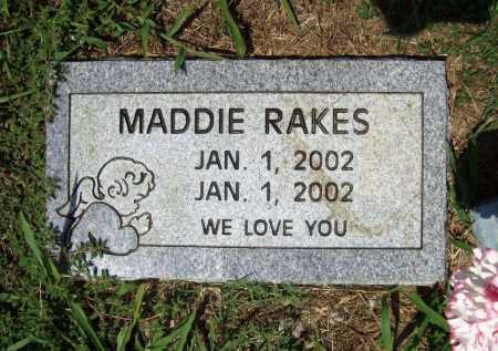 RAKES, MADDIE - Benton County, Arkansas | MADDIE RAKES - Arkansas Gravestone Photos