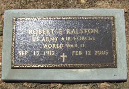 RALSTON (VETERAN WWII), ROBERT E - Benton County, Arkansas | ROBERT E RALSTON (VETERAN WWII) - Arkansas Gravestone Photos