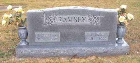 RAMSEY (VETERAN), J. BASIL - Benton County, Arkansas | J. BASIL RAMSEY (VETERAN) - Arkansas Gravestone Photos