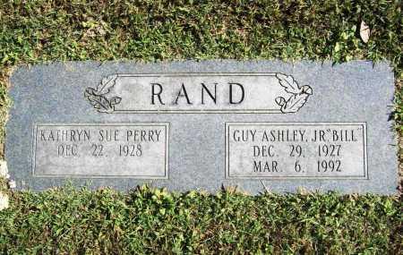 "RAND, GUY ASHLEY JR. ""BILL"" - Benton County, Arkansas | GUY ASHLEY JR. ""BILL"" RAND - Arkansas Gravestone Photos"