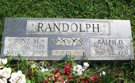 RANDOLPH, IRENE M. - Benton County, Arkansas   IRENE M. RANDOLPH - Arkansas Gravestone Photos