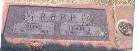 RAMEY RAPP, EUNICE - Benton County, Arkansas | EUNICE RAMEY RAPP - Arkansas Gravestone Photos