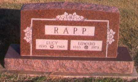 RAMEY RAPP, LUCY - Benton County, Arkansas | LUCY RAMEY RAPP - Arkansas Gravestone Photos
