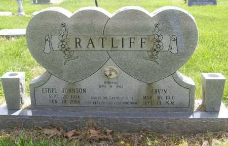 RATLIFF, ETHEL - Benton County, Arkansas | ETHEL RATLIFF - Arkansas Gravestone Photos