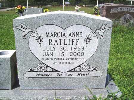 RATLIFF, MARCIA ANNE - Benton County, Arkansas | MARCIA ANNE RATLIFF - Arkansas Gravestone Photos