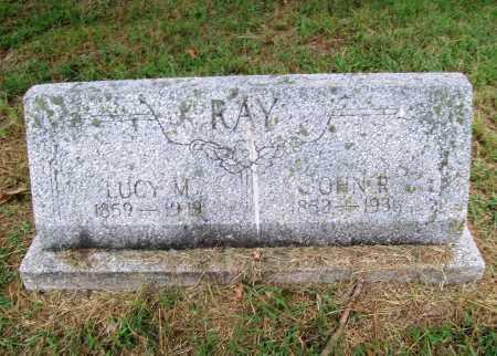 RAY, LUCY M. - Benton County, Arkansas | LUCY M. RAY - Arkansas Gravestone Photos