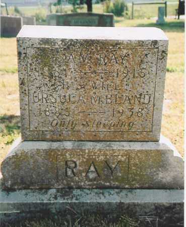 RAY, URSULA MARTHA - Benton County, Arkansas | URSULA MARTHA RAY - Arkansas Gravestone Photos