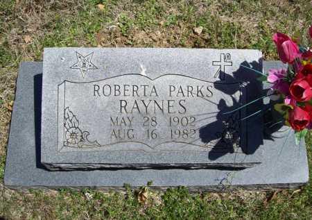 RAYNES, ROBERTA - Benton County, Arkansas   ROBERTA RAYNES - Arkansas Gravestone Photos