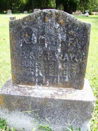RAYON, BEULAH FAE - Benton County, Arkansas | BEULAH FAE RAYON - Arkansas Gravestone Photos