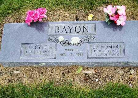 RAYON, JAMES HOMER - Benton County, Arkansas | JAMES HOMER RAYON - Arkansas Gravestone Photos