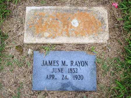 RAYON, JAMES M. - Benton County, Arkansas | JAMES M. RAYON - Arkansas Gravestone Photos