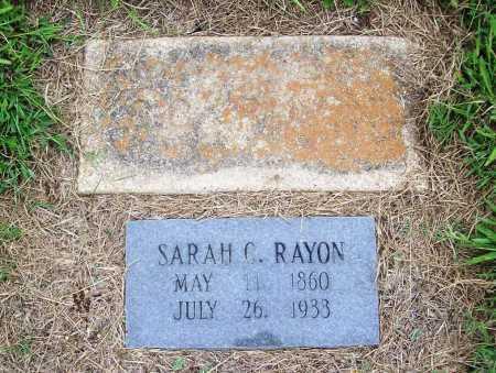 RAYON, SARAH CATHERINE - Benton County, Arkansas | SARAH CATHERINE RAYON - Arkansas Gravestone Photos