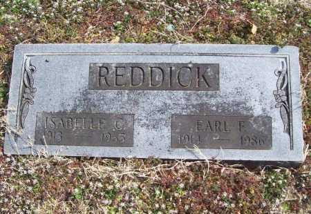REDDICK, ISABELLE - Benton County, Arkansas | ISABELLE REDDICK - Arkansas Gravestone Photos