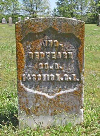 REDFEARN (VETERAN UNION), JOHN  (1) - Benton County, Arkansas   JOHN  (1) REDFEARN (VETERAN UNION) - Arkansas Gravestone Photos