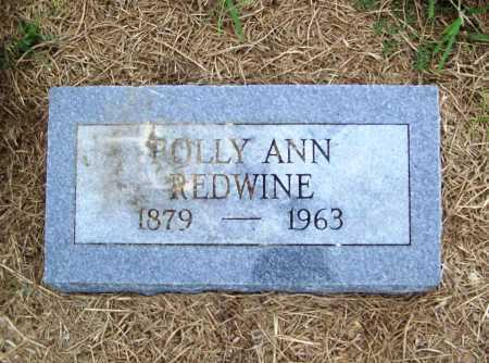 REDWINE, POLLY ANN - Benton County, Arkansas | POLLY ANN REDWINE - Arkansas Gravestone Photos