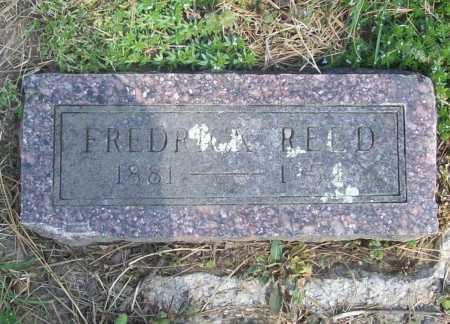 REED, FREDRICK - Benton County, Arkansas   FREDRICK REED - Arkansas Gravestone Photos