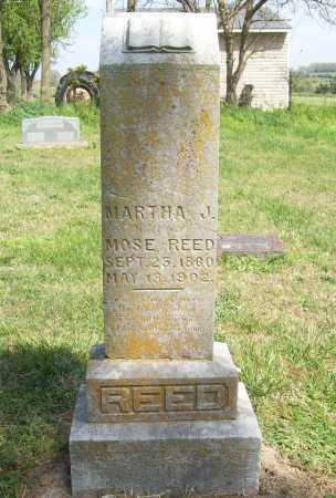 REED, MARTHA J. - Benton County, Arkansas | MARTHA J. REED - Arkansas Gravestone Photos