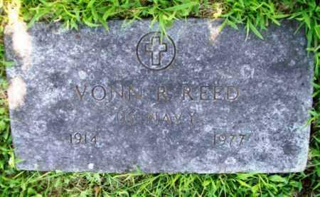 REED (VETERAN WWII)), VONN R. - Benton County, Arkansas | VONN R. REED (VETERAN WWII)) - Arkansas Gravestone Photos