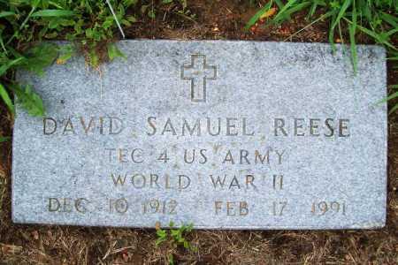 REESE (VETERAN WWII), DAVID SAMUEL - Benton County, Arkansas | DAVID SAMUEL REESE (VETERAN WWII) - Arkansas Gravestone Photos