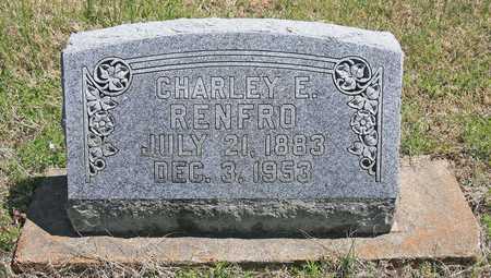 RENFRO, CHARLEY E - Benton County, Arkansas | CHARLEY E RENFRO - Arkansas Gravestone Photos