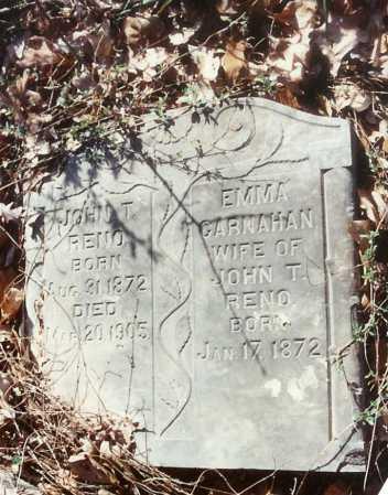 RENO, EMMA - Benton County, Arkansas | EMMA RENO - Arkansas Gravestone Photos