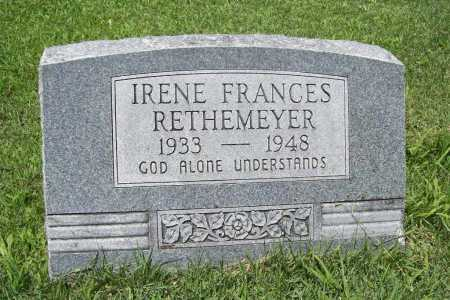 RETHEMEYER, IRENE FRANCES - Benton County, Arkansas | IRENE FRANCES RETHEMEYER - Arkansas Gravestone Photos