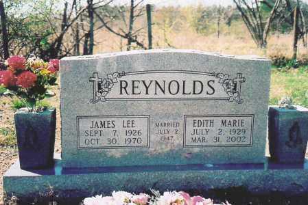 REYNOLDS, EDITH MARIE - Benton County, Arkansas | EDITH MARIE REYNOLDS - Arkansas Gravestone Photos