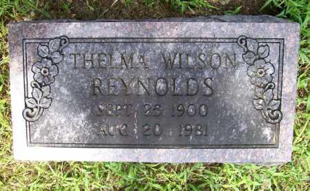WILSON REYNOLDS, THELMA - Benton County, Arkansas | THELMA WILSON REYNOLDS - Arkansas Gravestone Photos
