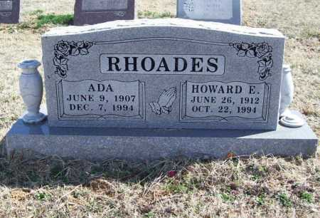RHOADES, ADA - Benton County, Arkansas | ADA RHOADES - Arkansas Gravestone Photos