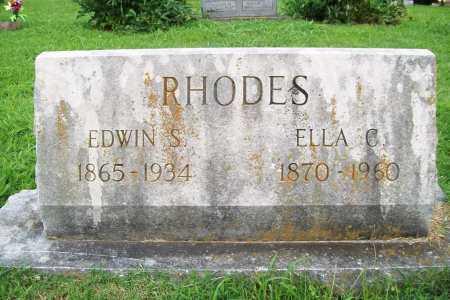 RHODES, ELLA C. - Benton County, Arkansas | ELLA C. RHODES - Arkansas Gravestone Photos