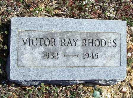 RHODES, VICTOR RAY - Benton County, Arkansas | VICTOR RAY RHODES - Arkansas Gravestone Photos