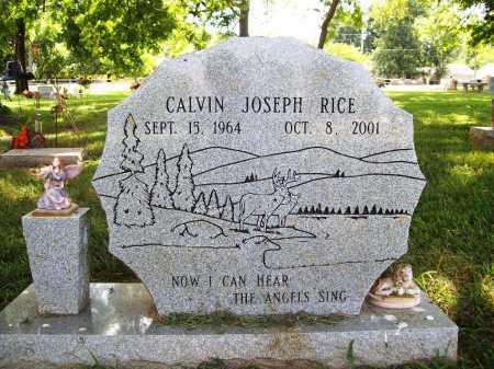RICE, CALVIN JOSEPH - Benton County, Arkansas   CALVIN JOSEPH RICE - Arkansas Gravestone Photos