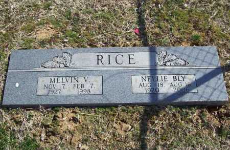 RICE, NELLIE BLY - Benton County, Arkansas | NELLIE BLY RICE - Arkansas Gravestone Photos