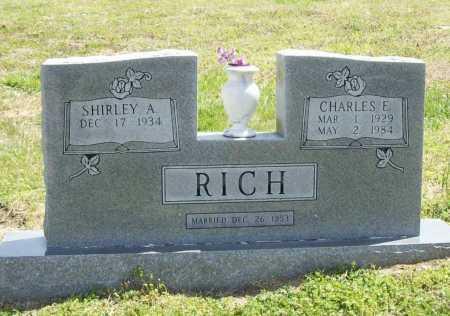 RICH, CHARLES E. - Benton County, Arkansas | CHARLES E. RICH - Arkansas Gravestone Photos