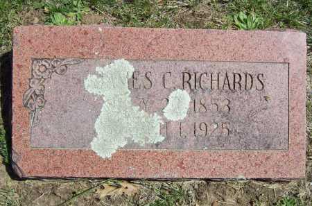 RICHARDS, JAMES C. - Benton County, Arkansas | JAMES C. RICHARDS - Arkansas Gravestone Photos