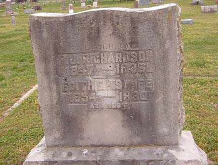 RICHARDSON, F. J. - Benton County, Arkansas | F. J. RICHARDSON - Arkansas Gravestone Photos