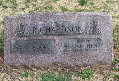 RICHARDSON, SADIE - Benton County, Arkansas | SADIE RICHARDSON - Arkansas Gravestone Photos