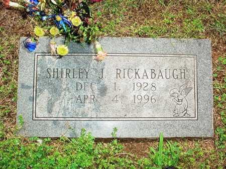 RICKABAUGH, SHIRLEY J. - Benton County, Arkansas | SHIRLEY J. RICKABAUGH - Arkansas Gravestone Photos