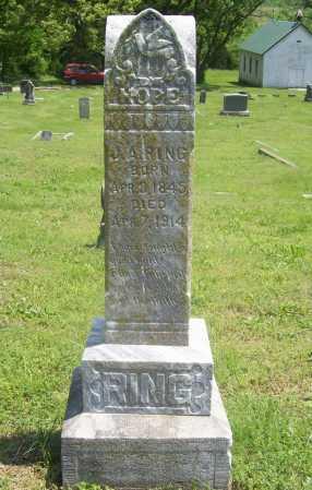 RING, J. A. - Benton County, Arkansas   J. A. RING - Arkansas Gravestone Photos