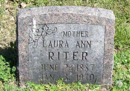RITER, LAURA ANN - Benton County, Arkansas   LAURA ANN RITER - Arkansas Gravestone Photos