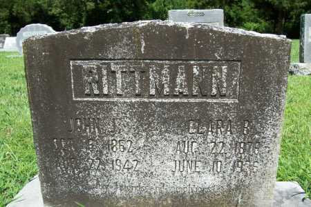 RITTMAN, CLARA BELLE - Benton County, Arkansas | CLARA BELLE RITTMAN - Arkansas Gravestone Photos