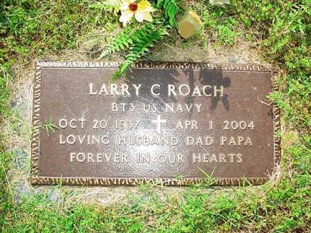 ROACH (VETERAN), LARRY C. - Benton County, Arkansas   LARRY C. ROACH (VETERAN) - Arkansas Gravestone Photos