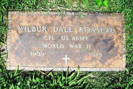 ROASEAU (VETERAN WWII), WILBUR DALE - Benton County, Arkansas   WILBUR DALE ROASEAU (VETERAN WWII) - Arkansas Gravestone Photos